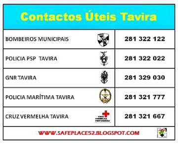 CONTACTOS TEIS TAVIRA