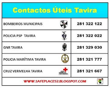 CONTACTOS ÚTEIS TAVIRA