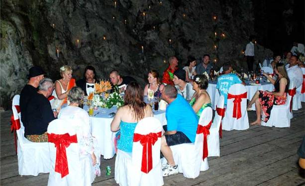 Wedding Anniversary in Cave - Paloma Cruise