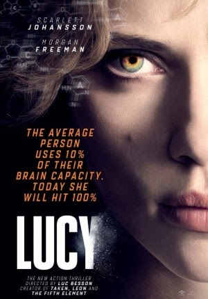 Film Lucy 2014 di Bioskop