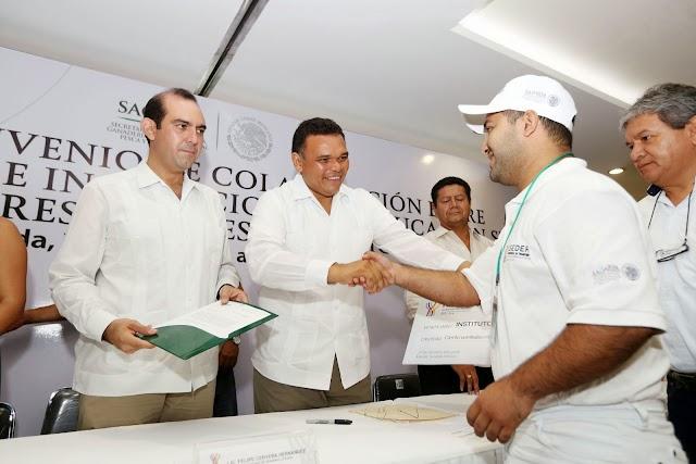 Contribuyen estudiantes al fortalecimiento del campo yucateco