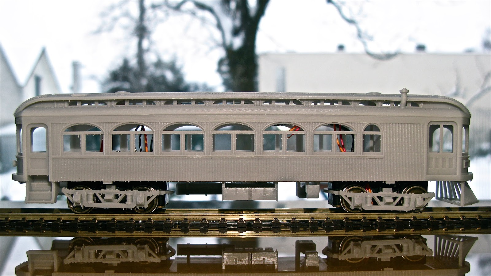 Interurban Railways The Oneonta Project 5 Side View
