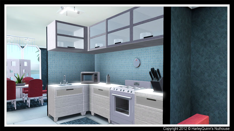 My sims 3 blog the modern escape by harleyquinn for Modern kitchen sims 3