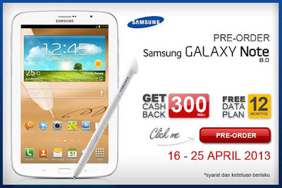 Harga Galaxy Note 8 di Indonesia