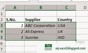 How to make text or data Italic in Excel 2013