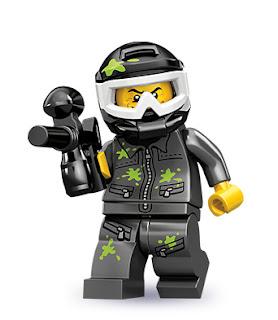 lego minifigür paintball oyuncusu