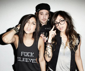 KREWELLA (Yasmine, Rain Man, Jahan)
