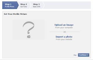 Create Facebook Artist Page
