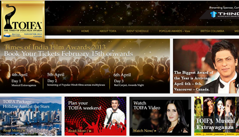 TOIFA 2013 - Times of India Film Awards 2013