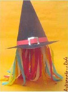 Como fazer um chapéu de bruxa passo a passo