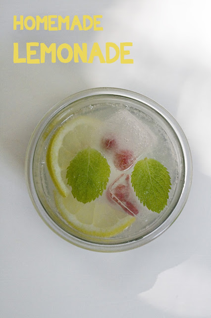 Homemade lemonade, Zitronenlimonade