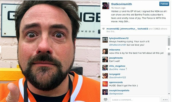 kevin smith star wars 7 tears