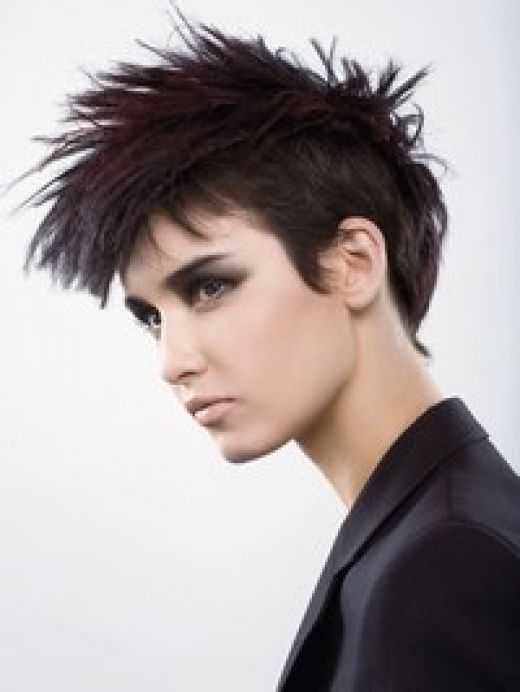 The Breathtaking Asian Women Short Messy Hairstyles Pics