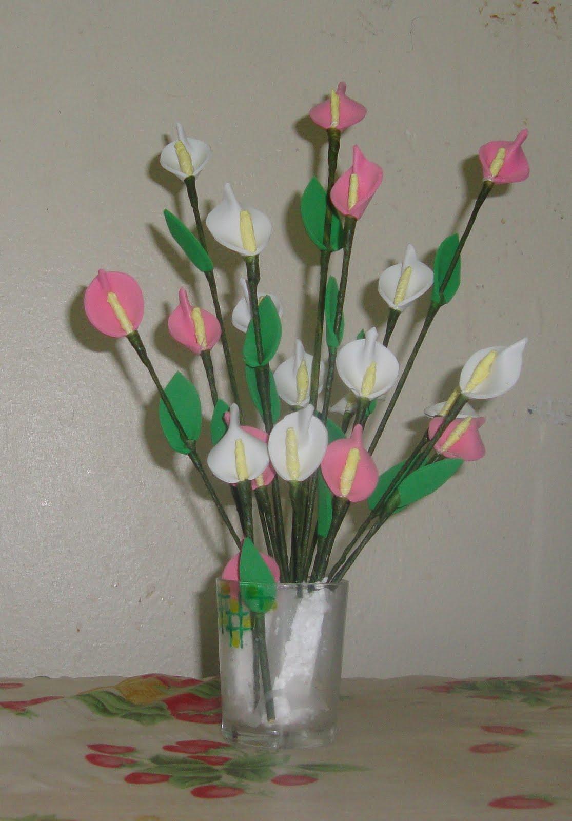 Neenus Handmade Crafts Foam Flowers