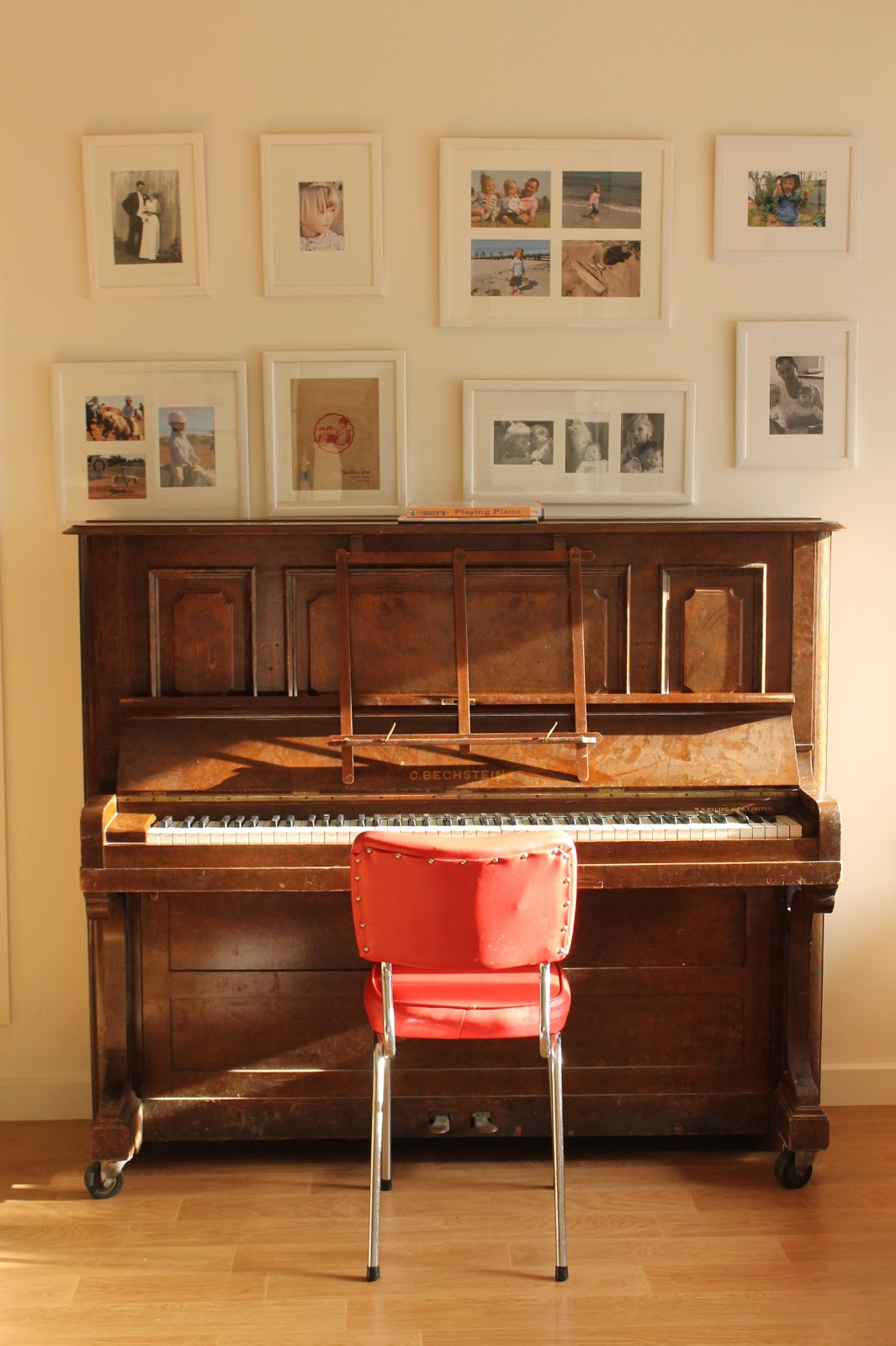 The shady baker a beautiful dusty old piano for Classic house piano