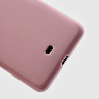 Frosted TPU Jelly Case For Nokia Lumia 625 - Pink