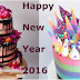 Amazing Collection of 2016 Happy New Year Cakes