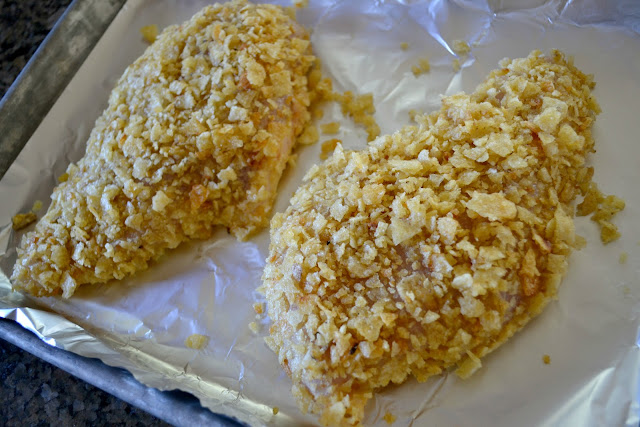 Kettle Chip crusted chicken #KettleMadness #cbias