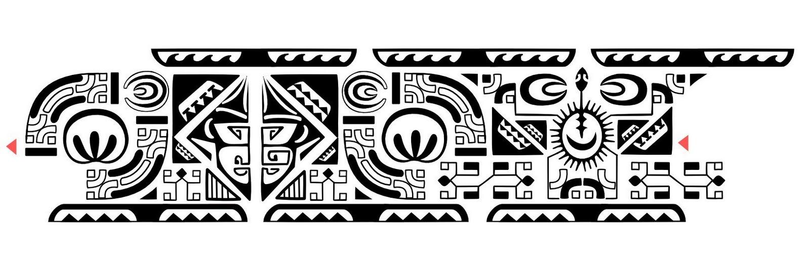 Браслеты тату полинезия 196