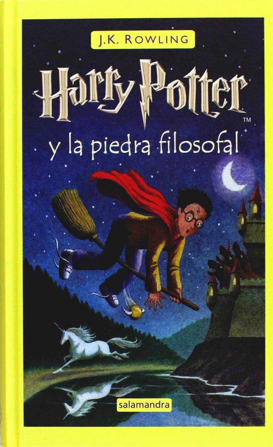 """Harry Potter y la piedra filosofal"" - J.K. Rowling"