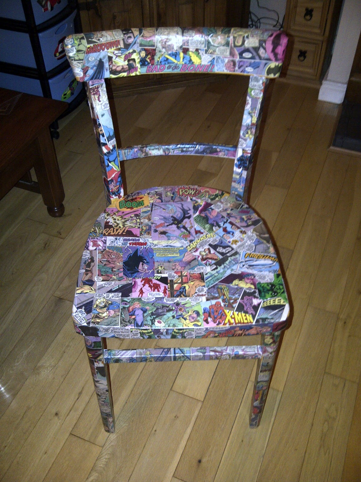 comic-book-chair-revamp
