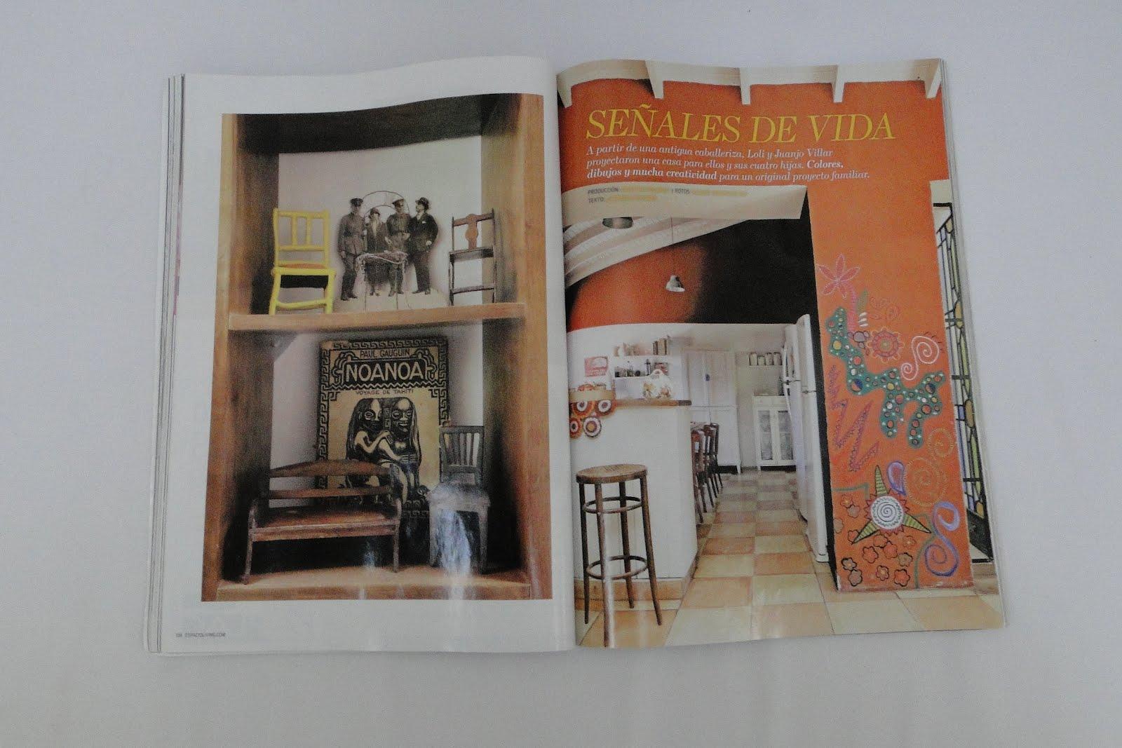 Estudio V Mi Casa En La Revista Living