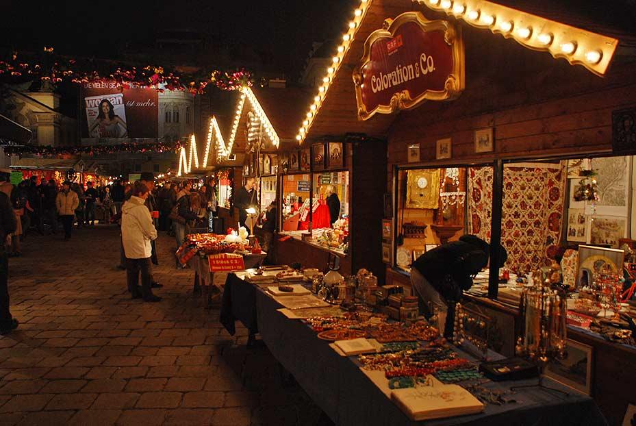 Viajes por todo el mundo mercadillos navide os en for Mercadillos navidenos madrid