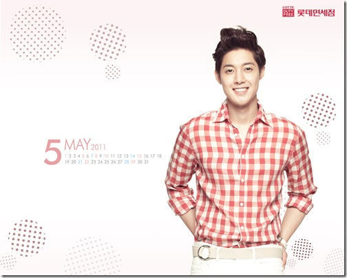 may 2011 calendar wallpaper. Lotte Duty Free Shop May 2011