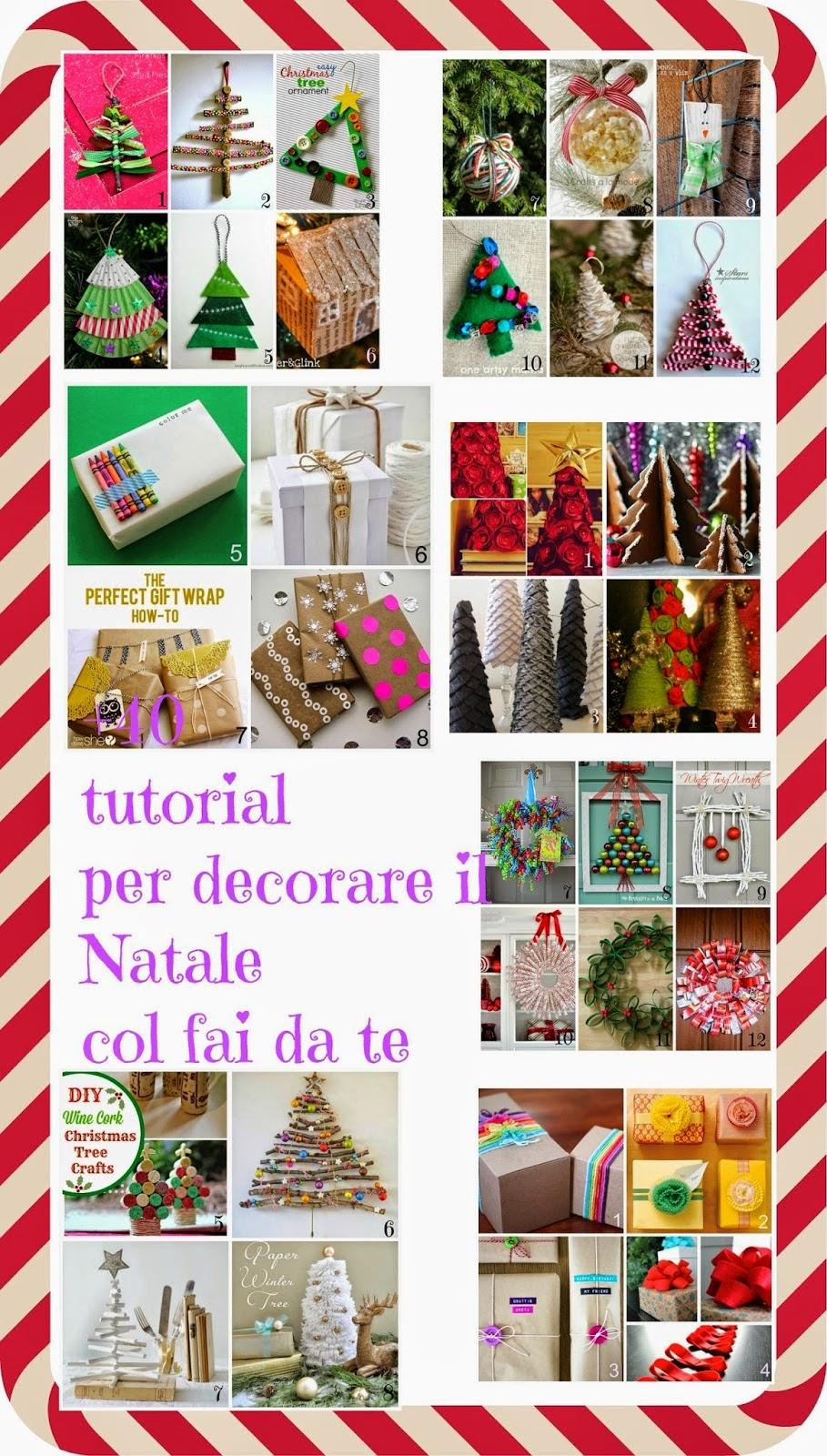 Natale fai da te 40 tutorial per decorare il natale col - Decorare candele per natale ...
