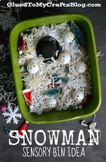 http://gluedtomycraftsblog.com/2014/12/snowman-sensory-bin-idea.html
