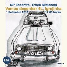 63º Encontro ÉSk | Vamos desenhar 4L, Igrejinha