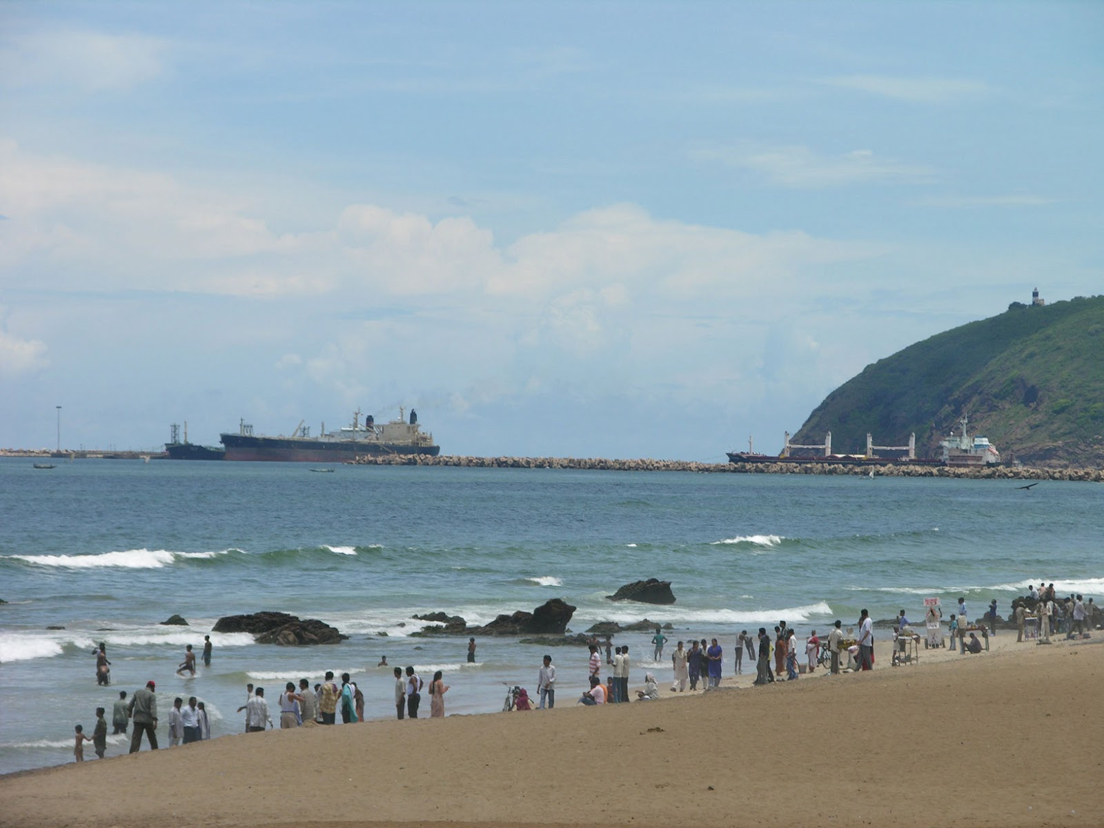 about visakhapatnam Everyone knows vizag dolphin's nose for its shape resembling that of dolphin nose and light house it has it's importance not only for that but also for its underground storage of lpg.