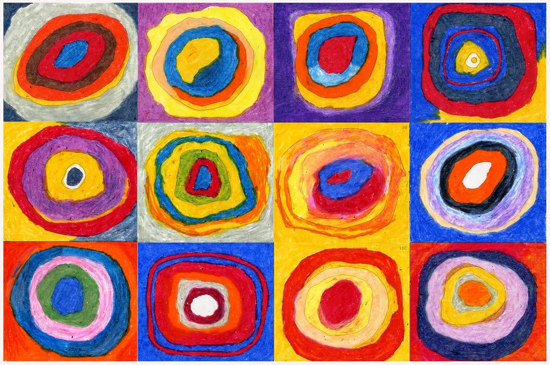 Wassily Kandinsky Circle Art