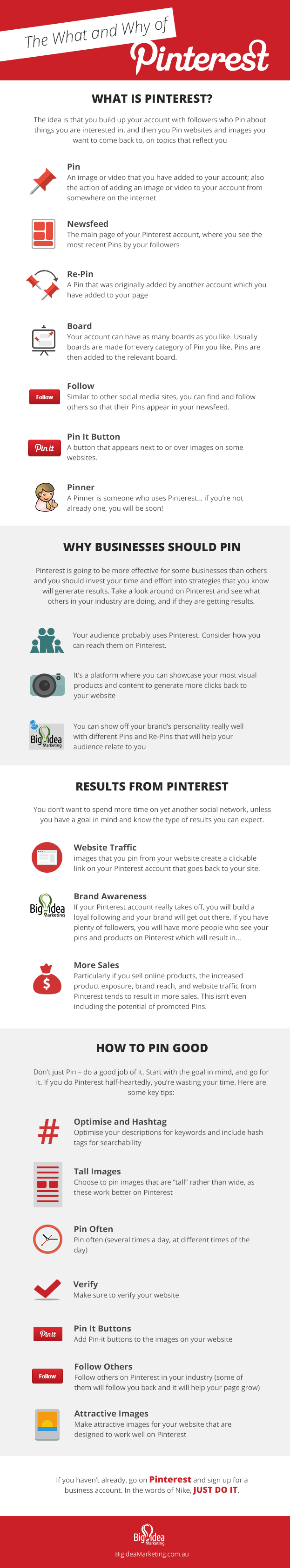 The What and Why of Pinterest for Business - #infographic
