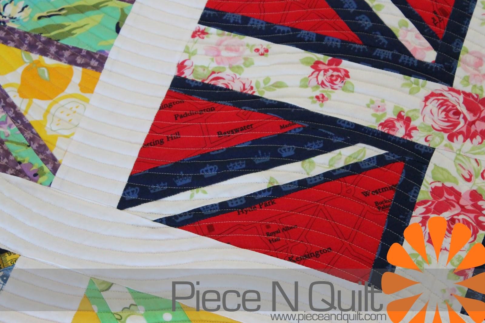 Piece N Quilt: Union Jack Quilt : union jack quilt - Adamdwight.com