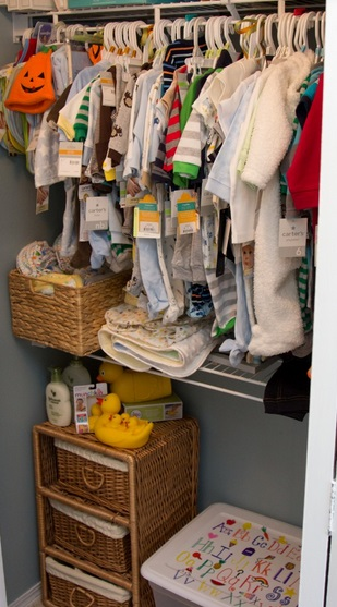 Clasifica la ropa de tu bebé