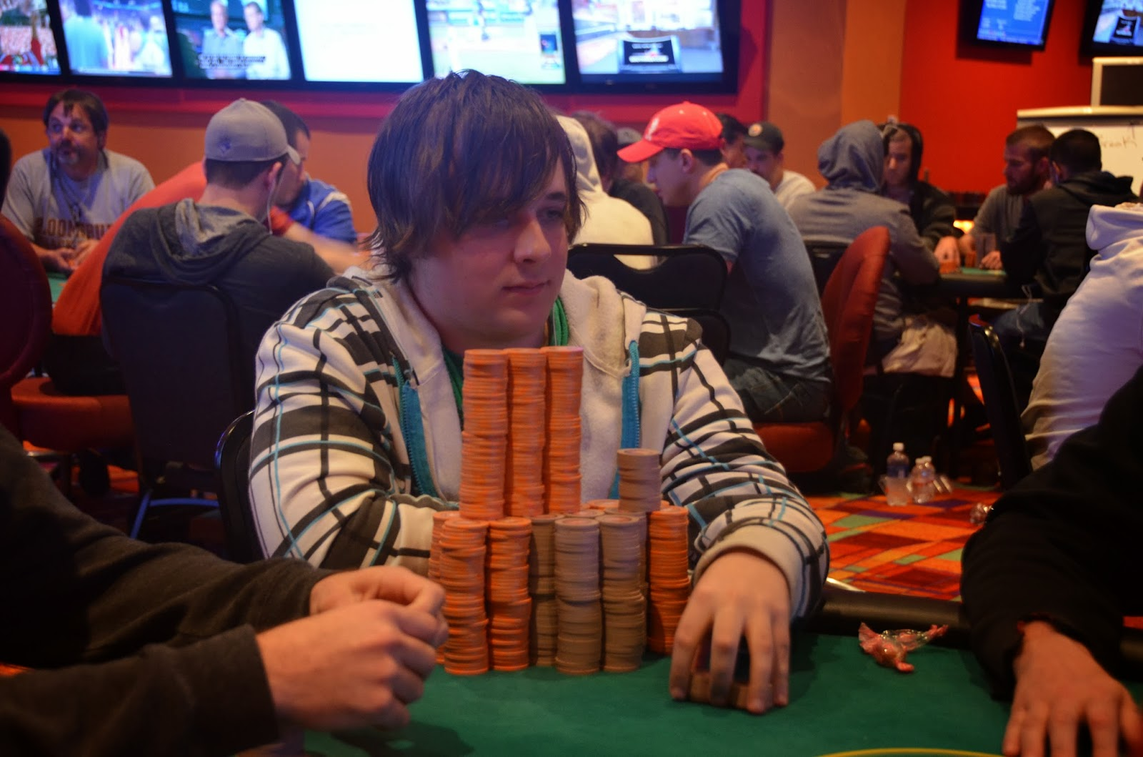Parx big stax iv big stax 300 day 2 leading the way for Parx poker room live game report