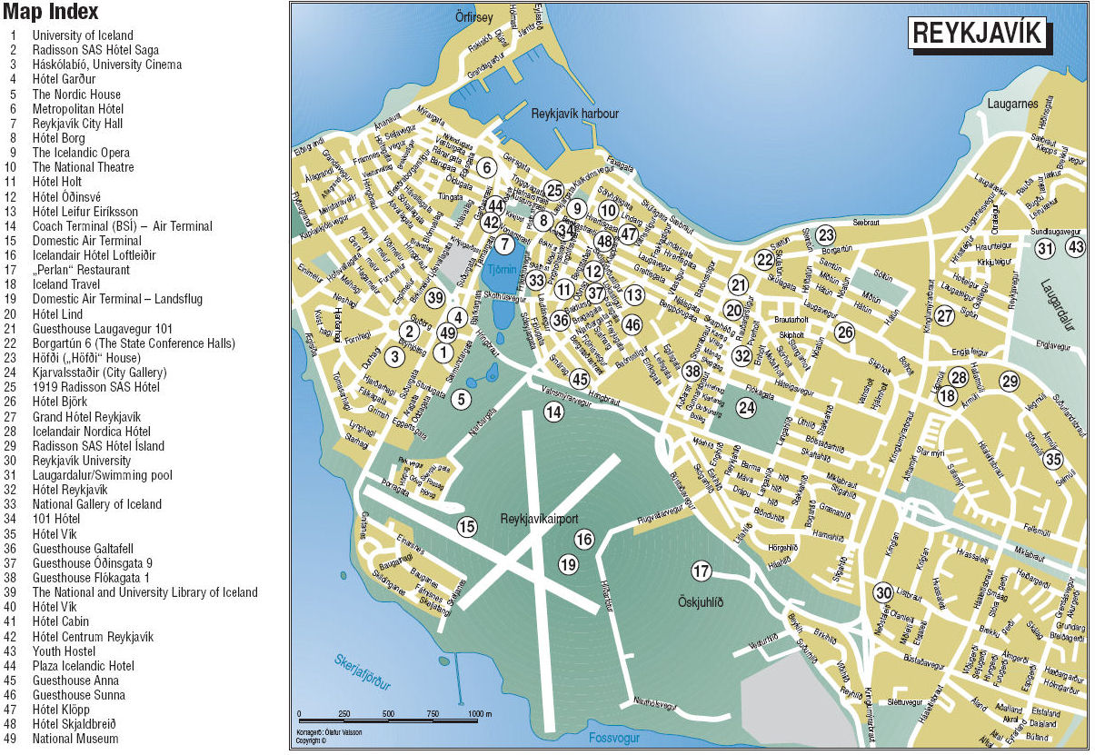 Tourist Attractions In Norway Map - Norway map attractions