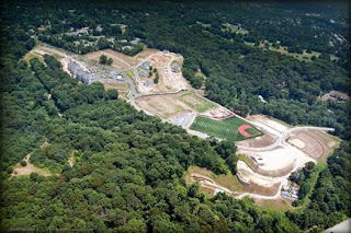 Aerial view of Athertyn at Haverford Reserve