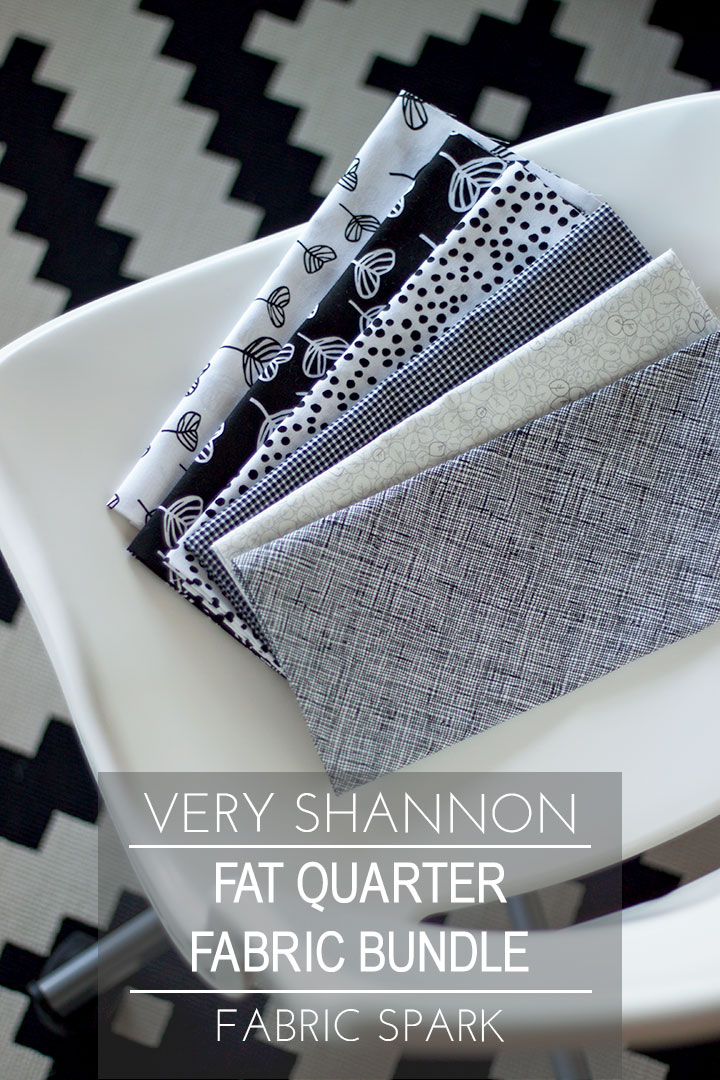 Very Shannon Fat Quarter Fabric Bundle for Fabric Spark