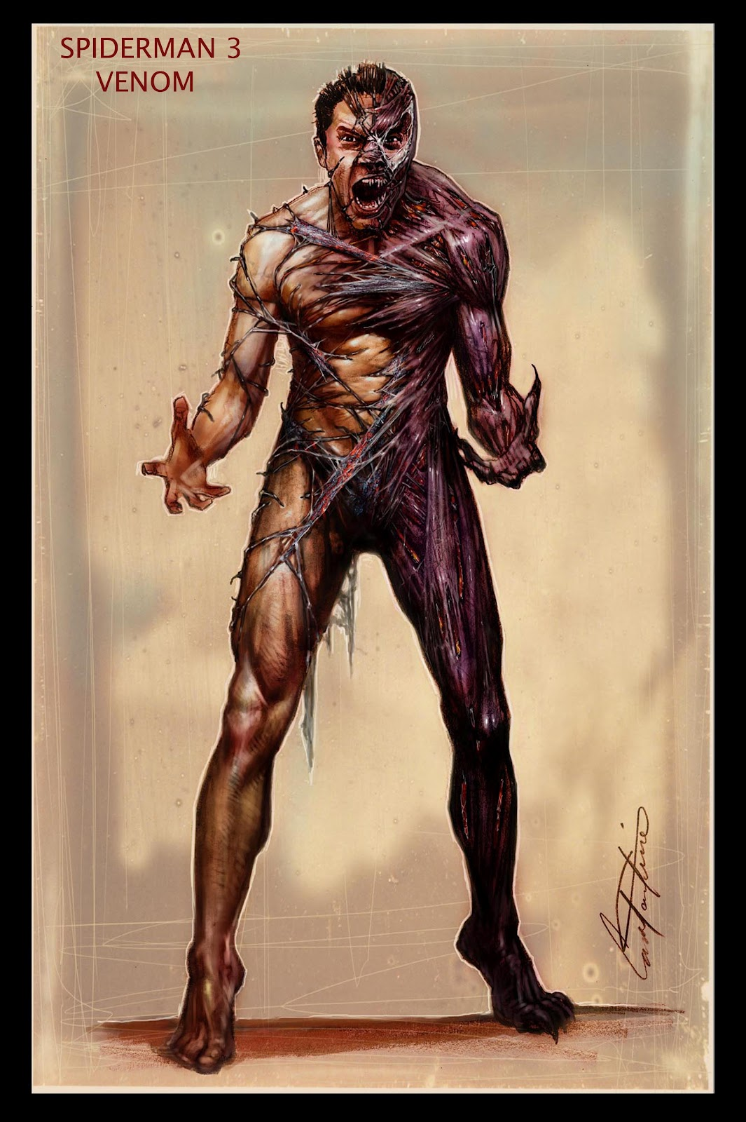 Film Sketchr: See the Venom You Didn't See in SPIDER-MAN 3 ... Tobey Maguire Movie List