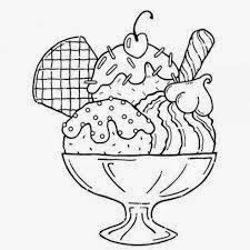 easy summer ice cream coloring pages 2 - Summer Coloring Pages 2