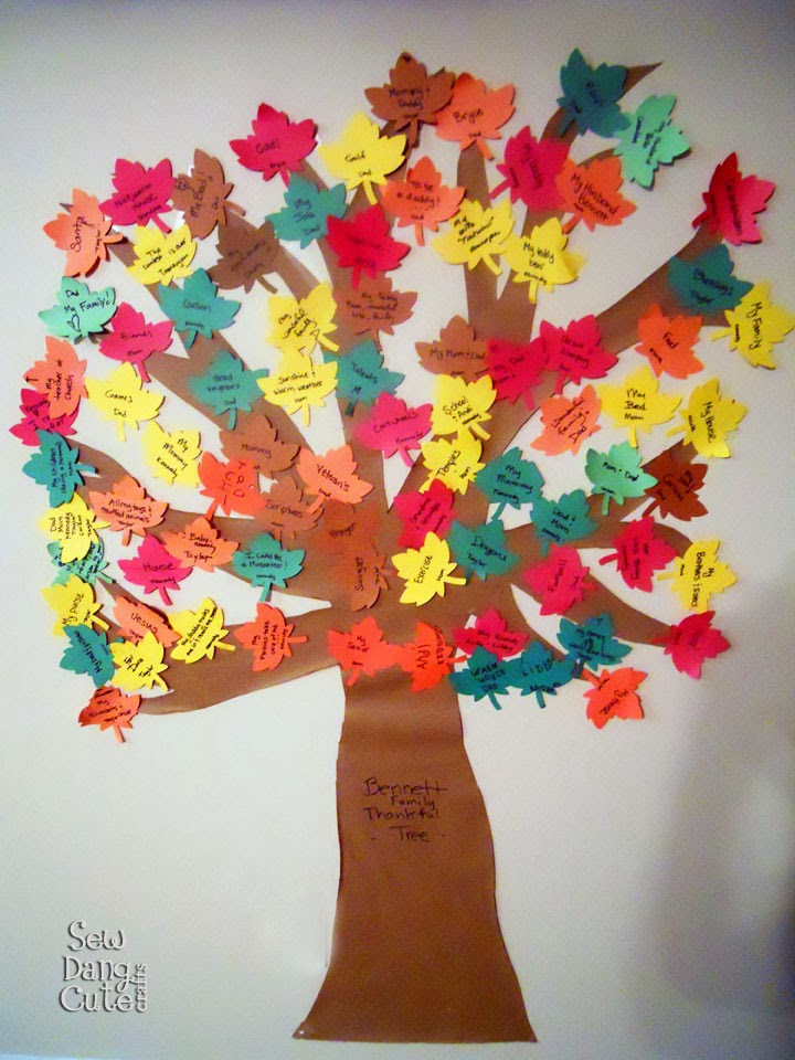 Stepford sisters thanksgiving craft round up 2013 for Thankful tree craft for kids