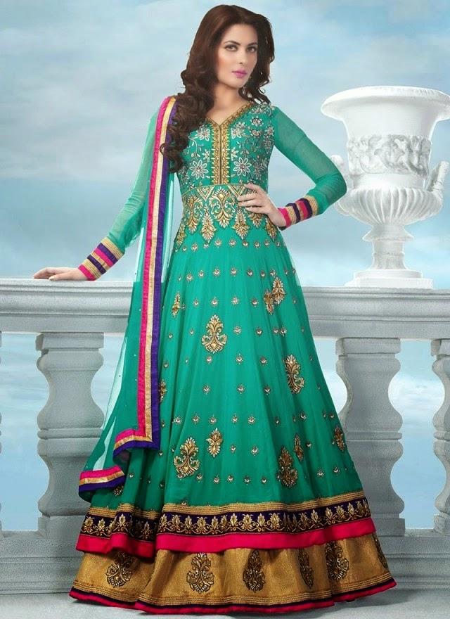 Fashion Mag: Bollywood-Indian Designers Floor Length Anarkali Frocks ...