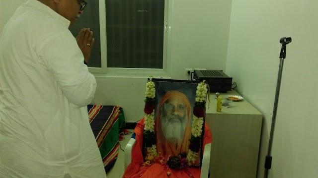 RSS Sarkaryavah paid tributes to Swami Dayanand Saraswathi
