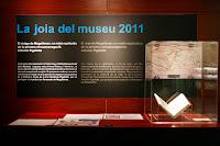 exposicio de un llibre al Museu maritim de Barcelona