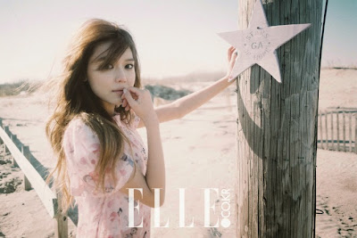 Sooyoung SNSD Girls Generation - Elle Magazine April Issue 2015