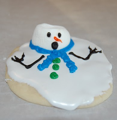 I M Melting Melted Snowman Cookies The Denicolo Family Blog