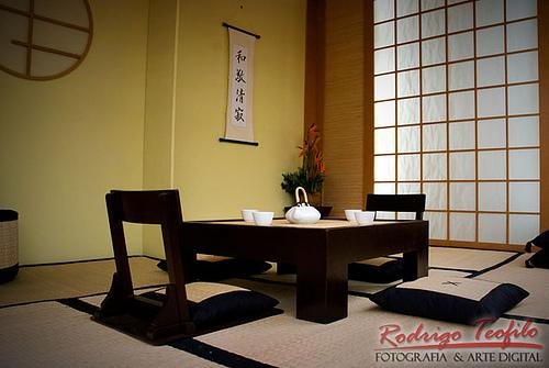 decoracao para sala oriental:18- Na decoração de interiores! Móveis de madeira cor tabaco