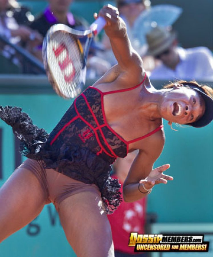 Venus williams in pantyhose